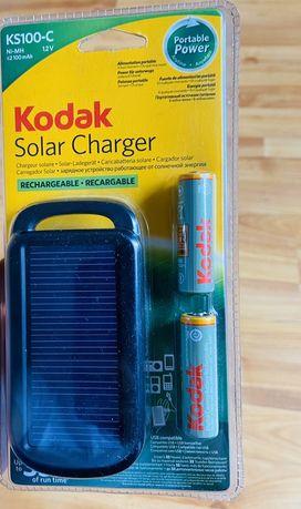Ładowarka solarna kodak ks100-c + 2AA