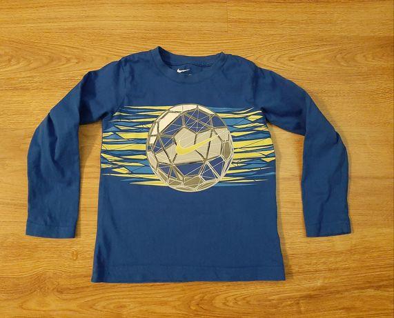 Niebieska bluzka chłopięca NIKE r. 116