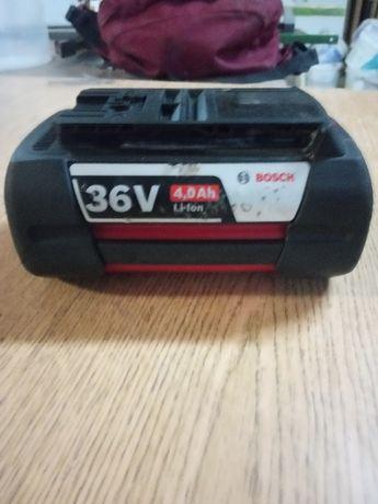 Bosch akumulator, bateria 36 v 4,0 ah stan bdb