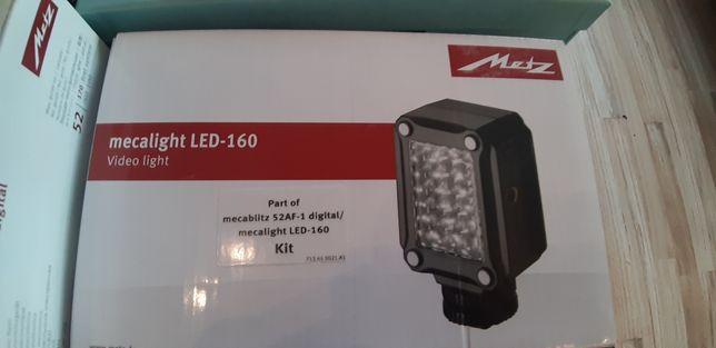 Lampard blyskowa mecalight Mec 160 do Canon