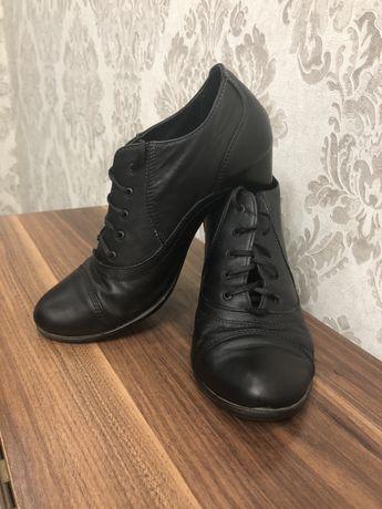Ботильйоны на каблуке, осенние ботинки, обувь, полуботинки, туфли,