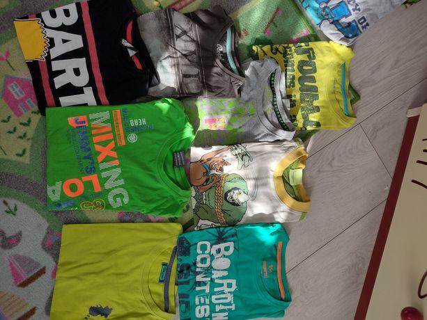 Bluzki,koszulki dla chłopca 122-134