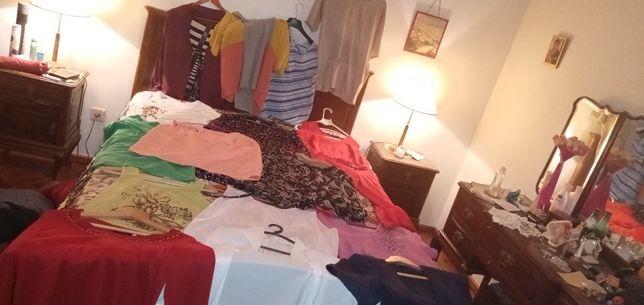 Roupa Mulher vintage top qualidade casacos camisas blusas desde 0.25E.