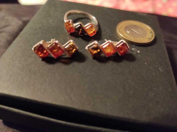 Kolczyki, zawieszka, pierścionek 3