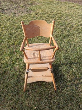 Krzesełko do karmienia i zabawy PRL