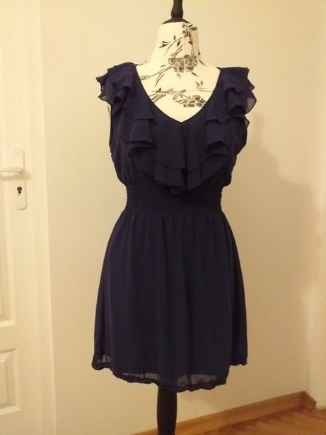 sukienka/tunika z falbankami