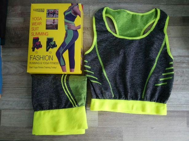 Женский костюм yoga Weara suit slimming леггенцы и топ Cooper fit