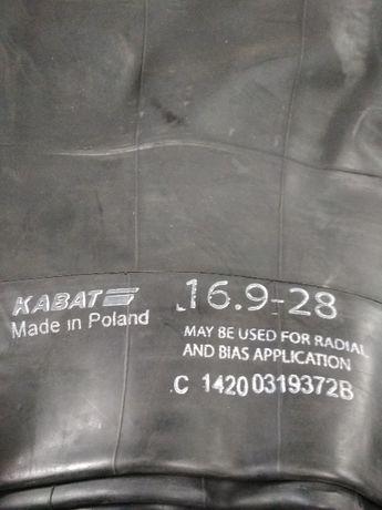 Dętka 16,9-28 zawór TR218A Kabat do ciągników i koparek
