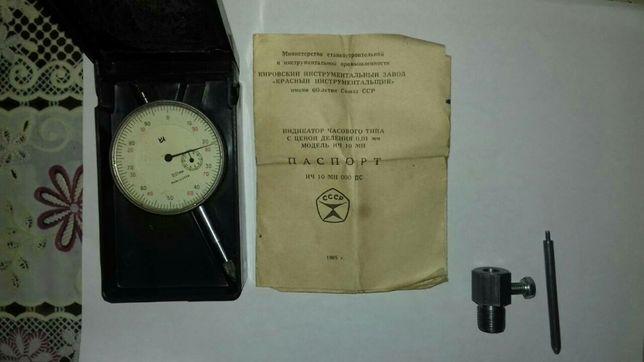 Индикатор ич 10 с приспособлением для выставления зажигания ява иж мин