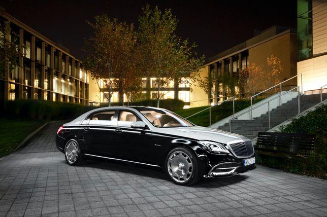 Maybach Mercedes E, S, V Range Rover wynajem ślub wesele limuzyna auto