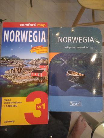 Przewodnik Pascal Norwegia plus mapa