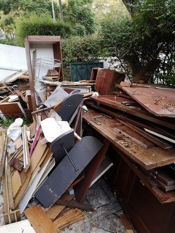 WM demolições e recolhas de móveis lixo ou entulho em geral.