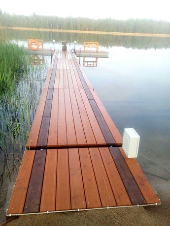 Wynajme domek caloroczny nad jeziorem MAZURY