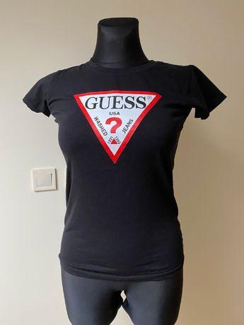 koszulka guess czarna