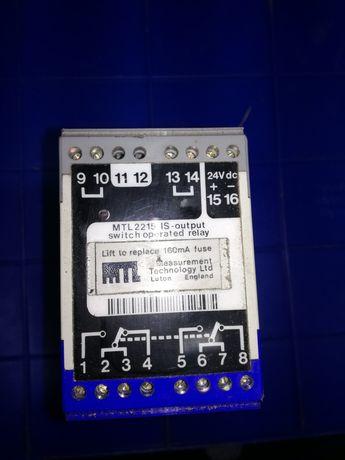 Przekaźnik iskrobezpieczny MTL2215 24VDC