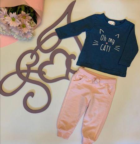 Комплект, костюм для девочки Carter's, Cool club