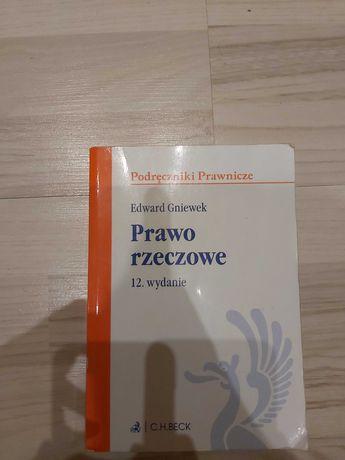 Prawo rzeczowe - podręcznik autorstwa prof. Edwarda Gniewka