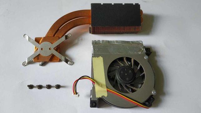 Система охлаждения ноутбука Asus A6R Радиатор + Кулер
