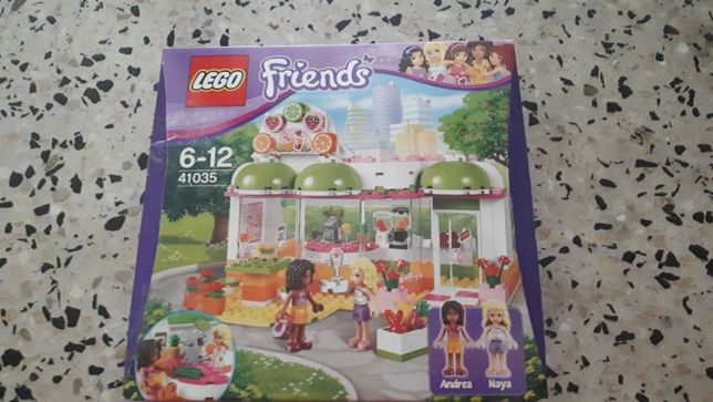 Lego Friends Bar z sokami 41035