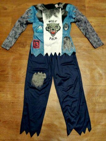 костюм волк 9-10 лет 140 размер карнавальный пират