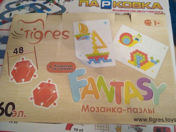 мозаика - пазлы детские новые