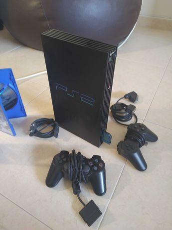 Playstation 2 (PS2) - Praticamente Nova , com muitos extras