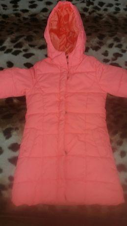 Куртка,курточка,пуховик для девочки.Рост 104см