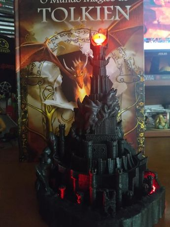 Sci-Fi Factory Forge Lord of the Rings Senhor dos anéis Barad-dûr, th