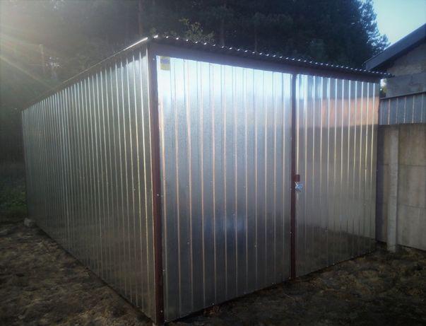 GARAŻ PRODUCENT blaszak garaże blaszane wiaty schowki blaszany blaszak