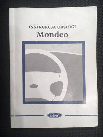 Instrukcja obsługi Mondeo wersja papierowa