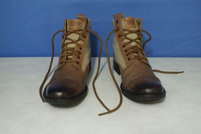 Skórzane buty Levi's (roz. 40)