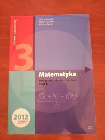 Matematyka 3, podręcznik
