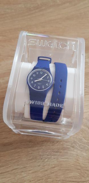 ZEGAREK Swatch LN148 Blueberry Girl
