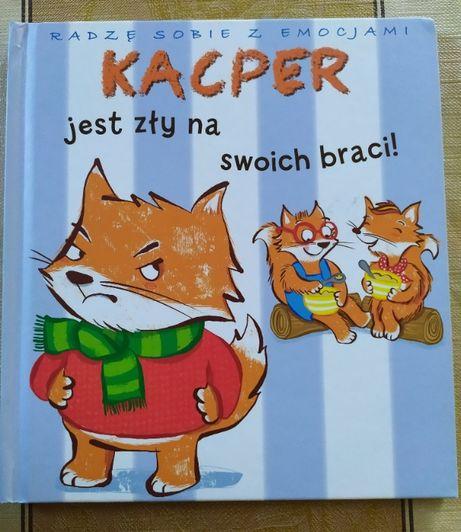 Kacper jest zły na swoich braci