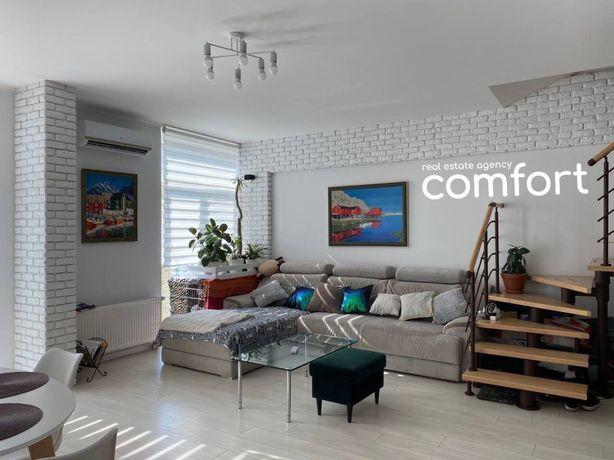 Продажа 3-к  2 этажной квартиры 86 кв.м в жк Комфорт таун