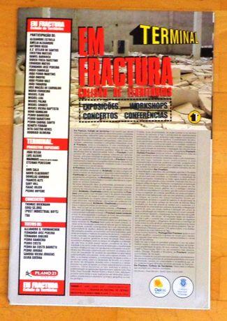 """""""Em Fractura: colisão de territórios"""" - Catálogo de exposição"""