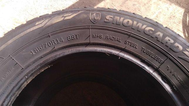 Зимние шины 185/70 R14 88T.