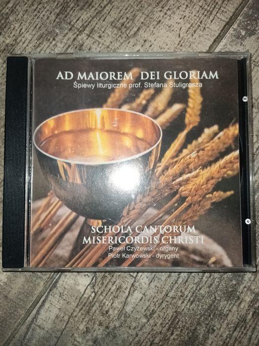 Ad Maiorem Dei Gloriam Śpiewy liturgiczne prof. Stuligrosza CD Warszawa - image 1
