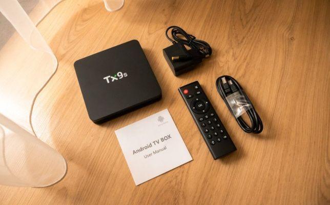 Smart TV Box TX9s, 8 Ядер, 2Гб ОЗУ, Мощная Приставка, Amlogic S912