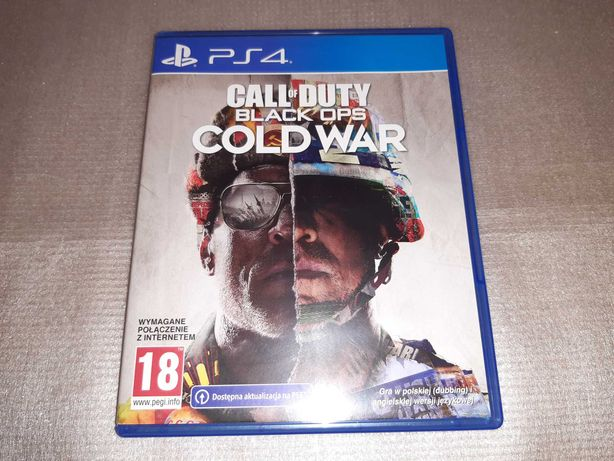 Call Of Duty Cold War PL PS4 Jak NOWA