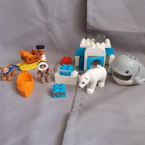 Lego Duplo 10803 Arktyka wieloryb niedźwiedź