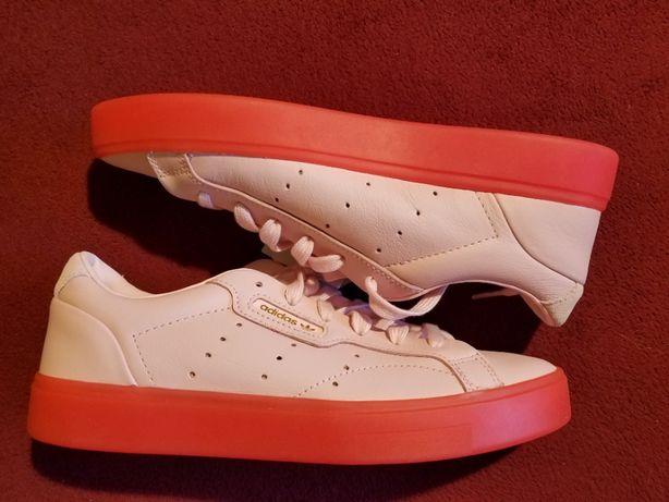 кроссовки Adidas Sleek, 23 CM, 37 размер, ОРИГИНЛ