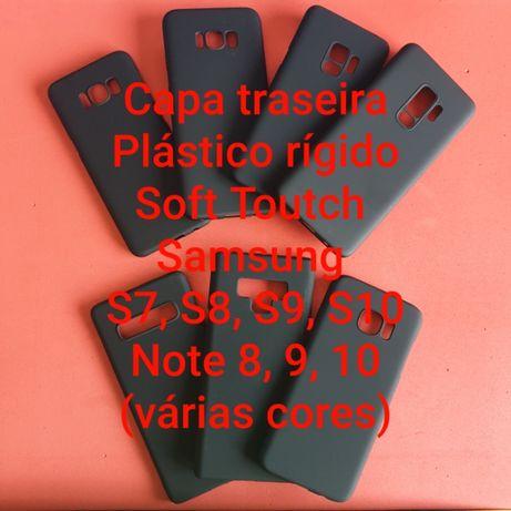 Capa Traseira S7 - S8 - S9 - S10 - S20 - Note 8 - 9 - 10 - 20