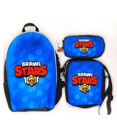 Рюкзак, сумка та пенал в наборі Brawl stars - гуртом та в роздріб!
