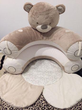 Развивающее кресло-коврик mothercare игровой детский коврик манеж