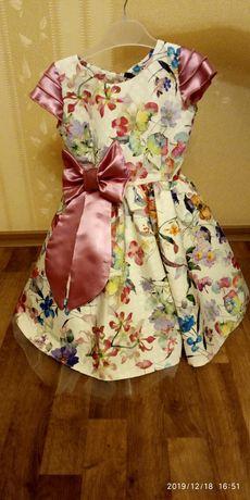 Платье для девочки 6-7 лет (Детское платье)