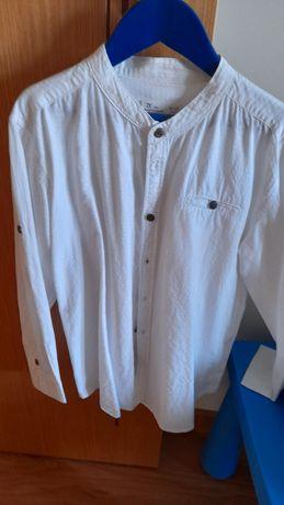 Camisa branca para rapaz