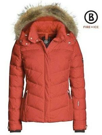 Пуховик bogner fire + ice пуховая куртка большое наполнение пуха