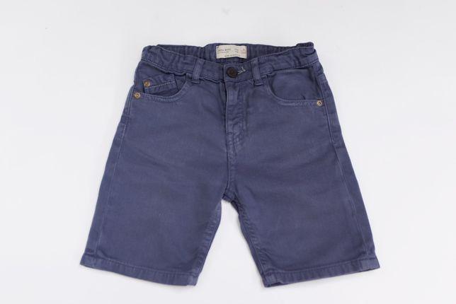 Spodenki szorty ZARA jeans niebieskie jak NOWE 5 110