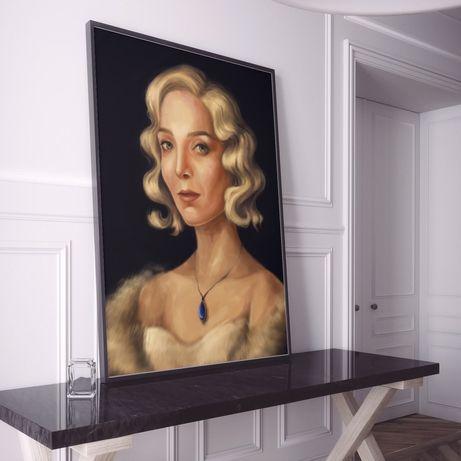 Портрет на заказ (рисунок, иллюстрация) подарок девушке/парню